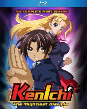 Kenichi the Mightiest Disciple Season 01 Blu-ray