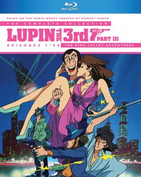 Lupin the 3rd Part III Blu-ray