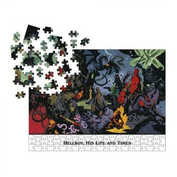 Hellboy Jigsaw Puzzle - His Life and Times (1000 pieces)