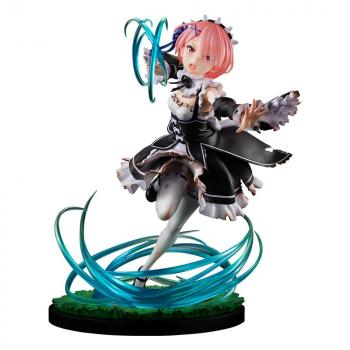 Re:ZERO -Starting Life in Another World- PVC Figure - Ram Battle with Roswaal Ver. 1/7