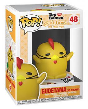 Gude x Nissin Top Ramen Pop Vinyl Figure - Chicken Gudetama