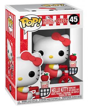 Hello Kitty x Nissin Pop Vinyl Figure - Hello Kitty on Bike