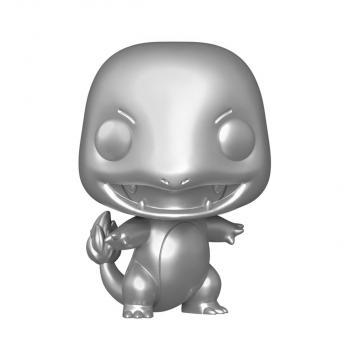 Pokemon Pop Vinyl Figure - Charmander (Chrome Silver)