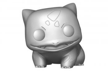 "Pokemon Jumbo Pop Vinyl Figure - Bulbasaur 10"" (Silver Chrome) (Special Edition)"