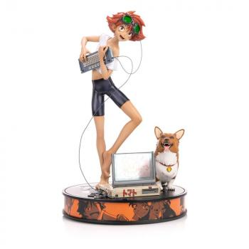Cowboy Bebop PVC Figure - Ed & Ein 1/4