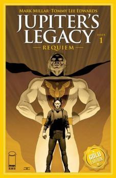 Jupiters Legacy Requiem #1 Cover I John Cassaday Gold Foil Variant Cover