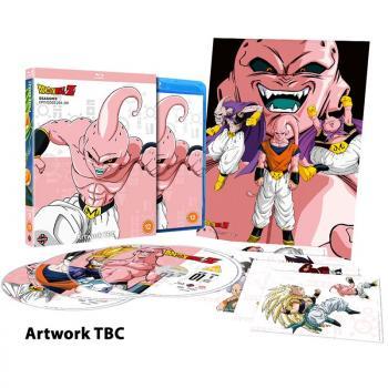 Dragon Ball Z Season 09 Blu-Ray UK
