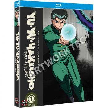 Yu Yu Hakusho Season 01 Blu-Ray UK