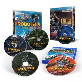 Robotech Part 01 The Macross Saga Blu-ray