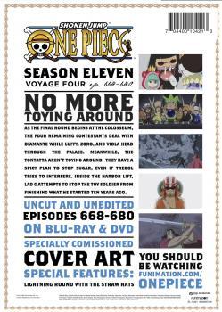 One Piece Season 11 Part 04 Blu-ray/DVD