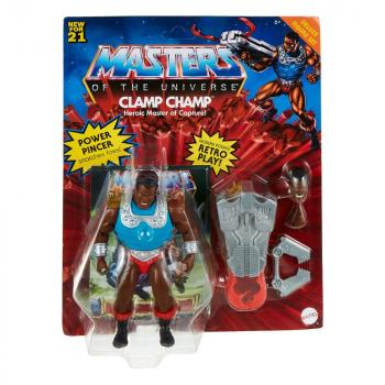 Masters of the Universe Origins Action Figure - Clamp Champ (Deluxe Set)
