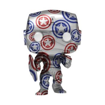 Artist Series Patriotic Age Pop Vinyl Figure - Captain America (Steve Rogers) (Special Edition)