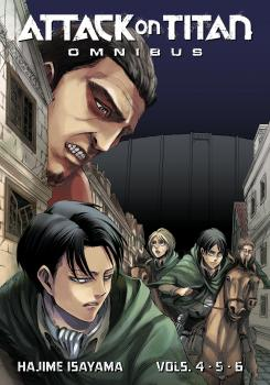 Attack on Titan Omnibus vol 02 (Vol 4-6) GN Manga