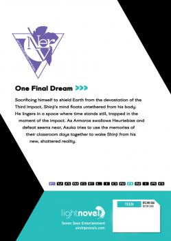 Neon Genesis Evangelion: ANIMA vol 05 Light Novel