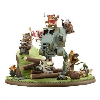 Star Wars ARTFX PVC Statue - Battle of Endor The Little Rebels