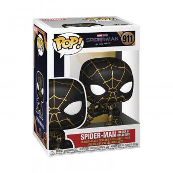 Spider-Man: No Way Home Pop Vinyl Figure - Spider-Man Black and Gold Suit