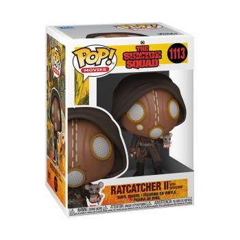 Suicide Squad 2021 Pop Vinyl Figure - Ratcatcher II with Sebastian