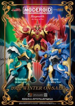 Magic Knight Rayearth Moderoid Plastic Model Kit - Ceres, the Spirit of Water