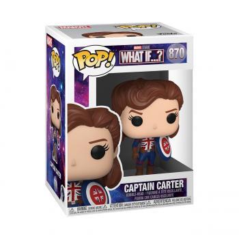 Marvel Studios What If...? Pop Vinyl Figure - Captain Carter