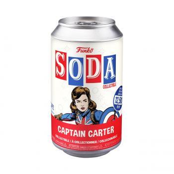 Marvel's What If? Vinyl Soda Figure - Captain Carter