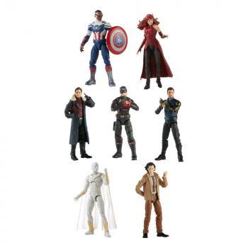Avengers Disney Plus Marvel Legends Series Action Figures 15 cm 2021 Wave 1 Assortment (7)