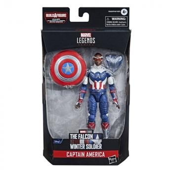 Avengers Disney Plus Marvel Legends Series Action Figures - Captain America (The Falcon and the Winter Soldier)