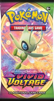 Pokémon TCG Sword and Shield Vivid Voltage Booster Pack