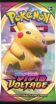Pokémon Sword and Shield Vivid Voltage Booster Pack