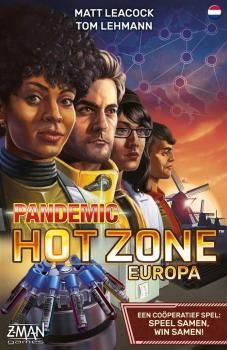 Pandemic Hot Zone Europa (Nederlandstalig)