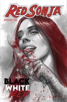 RED SONJA BLACK WHITE RED #4 CVR A PARRILLO
