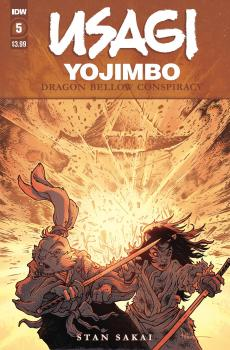 USAGI YOJIMBO DRAGON BELLOW CONSPIRACY #5 (OF 6)