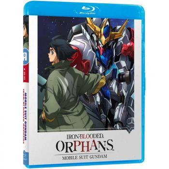 Mobile Suit Gundam Iron Blooded Orphans Part 02 Blu-Ray UK