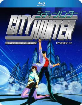 City Hunter The Complete First Series Blu-ray