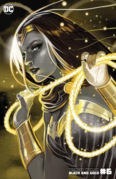 WONDER WOMAN BLACK & GOLD #6 (OF 6) CVR B STEPHANIE HANS VAR