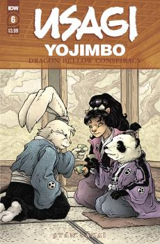 USAGI YOJIMBO DRAGON BELLOW CONSPIRACY #6 (OF 6)