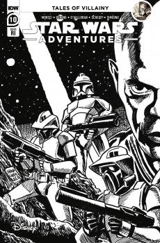 STAR WARS ADVENTURES (2021) #10 FRANCAVILLA 1:10 VAR