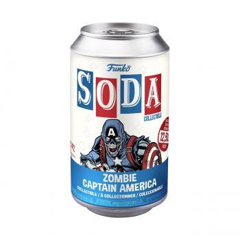 Marvel's What If? Vinyl Soda Figure - Zombie Captain America