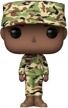 Military Air Force Pop Vinyl Figure - Female (African American)