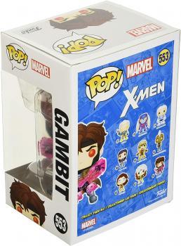Marvel X-Men Classic Pop Vinyl Figure - Gambit with Cards