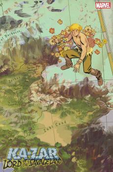 KA-ZAR LORD SAVAGE LAND #2 (OF 5) GARCIA MAP 1:10 VAR
