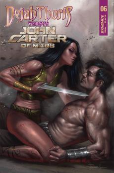 DEJAH THORIS VS JOHN CARTER OF MARS #6 CVR A PARRILLO