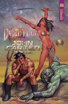 DEJAH THORIS VS JOHN CARTER OF MARS #6 CVR B LINSNER