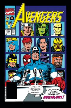 Avengers Epic Collection TP Crossing Line (Trade Paperback)