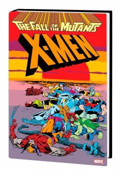 X-Men Fall Of Mutants Omnibus HC Davis Cover (MR) (Hardcover)