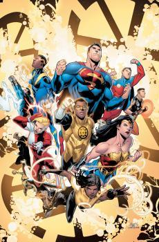 JUSTICE LEAGUE VS THE LEGION OF SUPER-HEROES #1 (OF 6) CVR A SCOTT GODLEWSKI