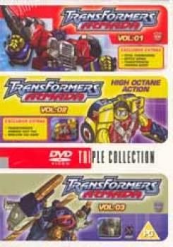 Transformers Armada vol 01-03 DVD PAL UK