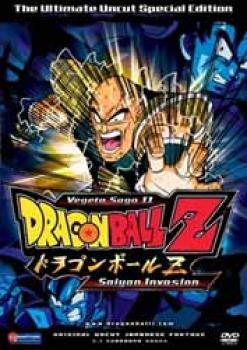 Dragonball Z vol 08 Vegeta saga 02 Saiyan invasion DVD