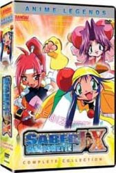 Saber Marionette J-X Complete collection Anime legends DVD