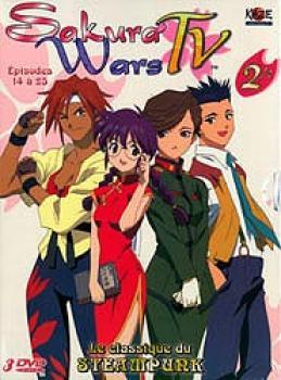Sakura wars TV box set vol 02 DVD PAL FR