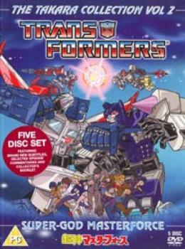 Transformers Takara collection 02 Super-God Masterforce DVD box